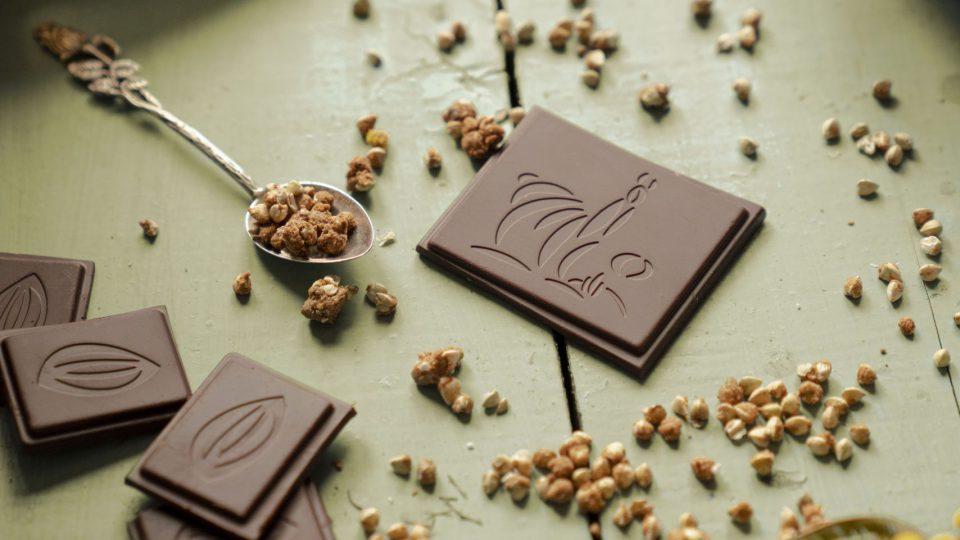 Kocke čokolade Chocollama