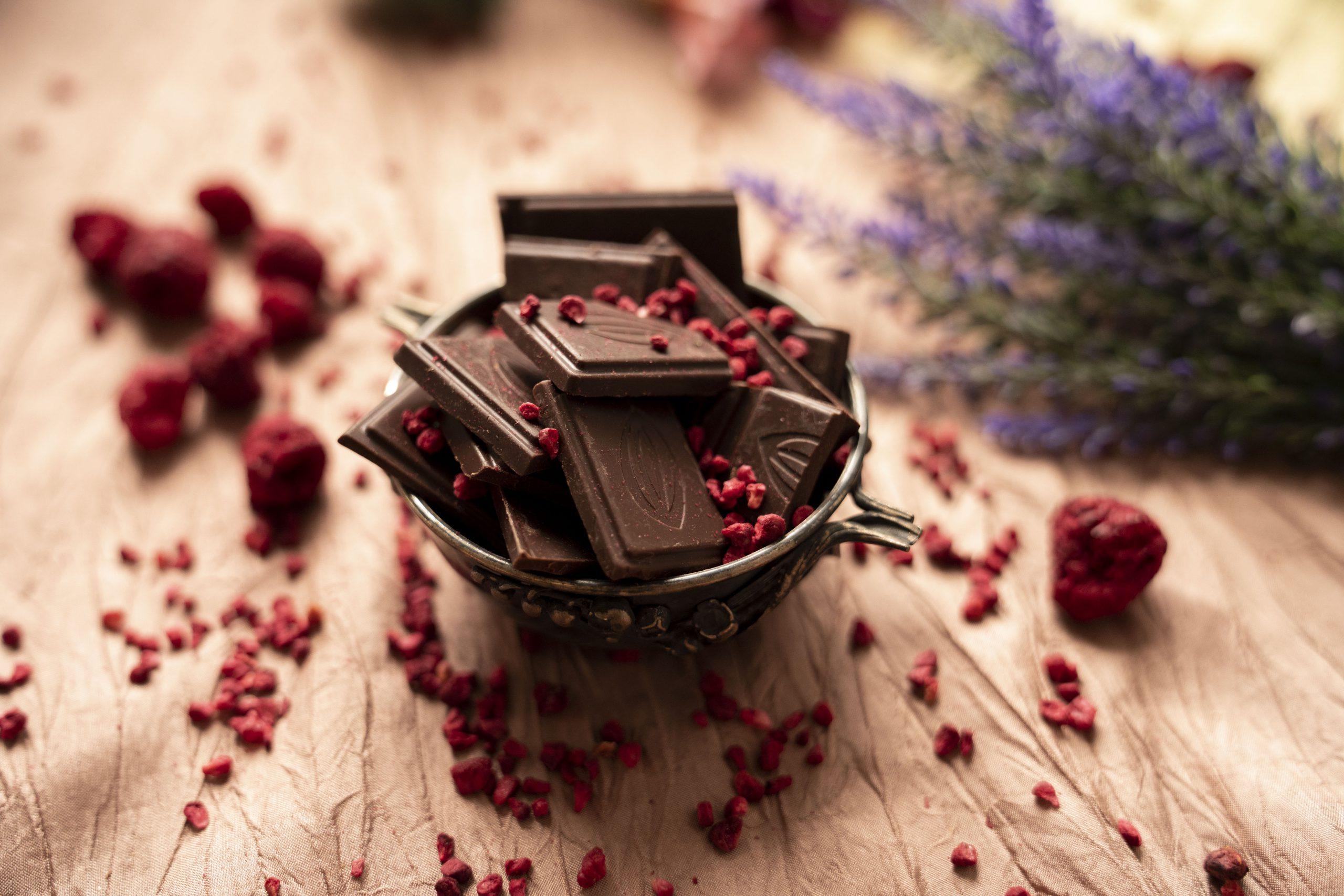 Organska čokolada kocka