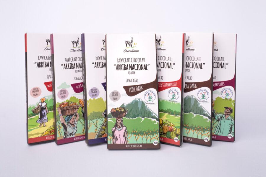 Chocollama proizvodi ambalaža
